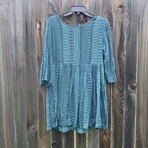 Boho tribal F21 dress, EUC!!